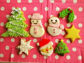 クリスマスに作りたい♡アイシングクッキー