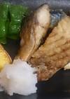 塩鯖の竜田揚げ