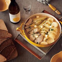 タラとじゃがいものバター鍋