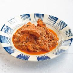 厚揚げのトマト煮込み