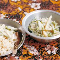 インドネシア風さやいんげんのクリーム煮