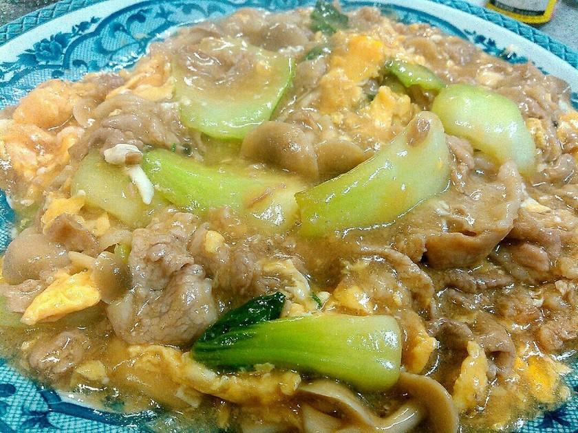 簡単☆ふわふわ玉子の豚肉炒め 台湾料理風