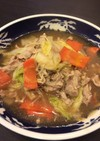白菜とえのきの中華風うま煮