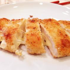 揚げずに簡単☆ササミチーズフライ
