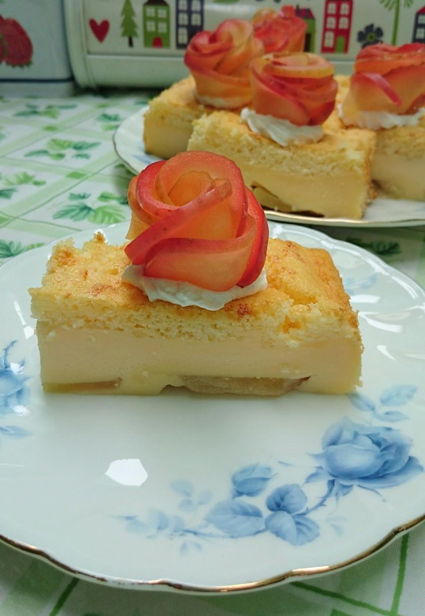 ☆アップルガトーマジックケーキ☆