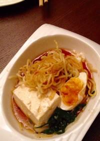 鍋の〆!パリパリ中華麺
