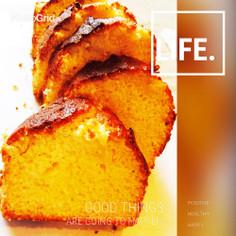 サラダ油でカリふわっ♡パウンドケーキ**