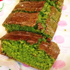 HMで☆鮮やかほうれん草のグリーンケーキ