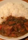GABANのカレー粉で作る豚肉カレー