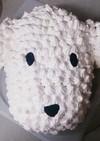 かわいい犬(WAON)の立体ケーキ