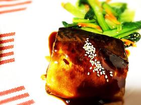 冷凍で作り置き!鯖の味噌煮