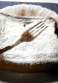 シナモンのフレンチトースト