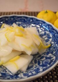 簡単常備菜 大根の柚子風味