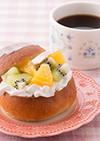 ホイップ&フルーツサンドパン 糖質制限