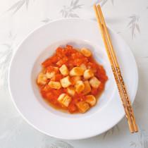トマトと麩の炒め煮