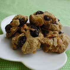 ナッツ&ラムレーズンのヘルシークッキー