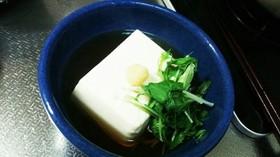 簡単  温 豆腐
