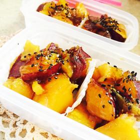 ☆お弁当に☆さつまいもの甘露煮 冷凍食品