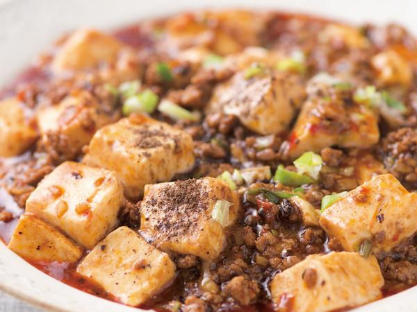 シビれる麻婆豆腐