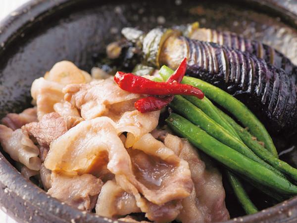豚肉となすのスタミナ煮