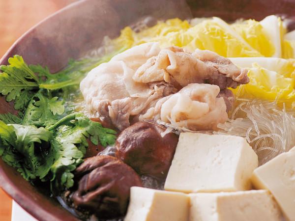 """豚肉と豆腐の""""ほったらかし""""なべ"""