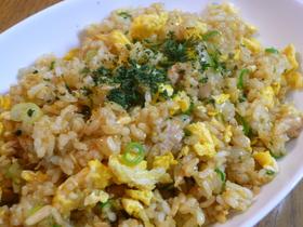 ツナと卵のカレー炒飯