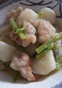 鶏とかぶの中華風みぞれ煮