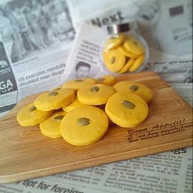 黄金比!簡単サクサクかぼちゃクッキー