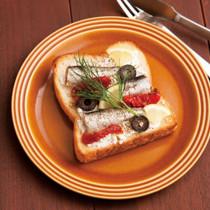 サーディン&チーズトースト