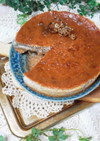 X'mas生いちごのベイクドチーズケーキ