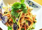 にんじんと三つ葉のサラダ
