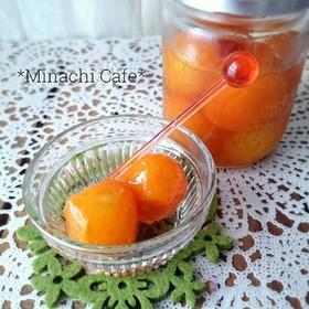 金柑のはちみつ生姜煮