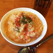 生米から!トマト丸ごとトマトリゾットの写真