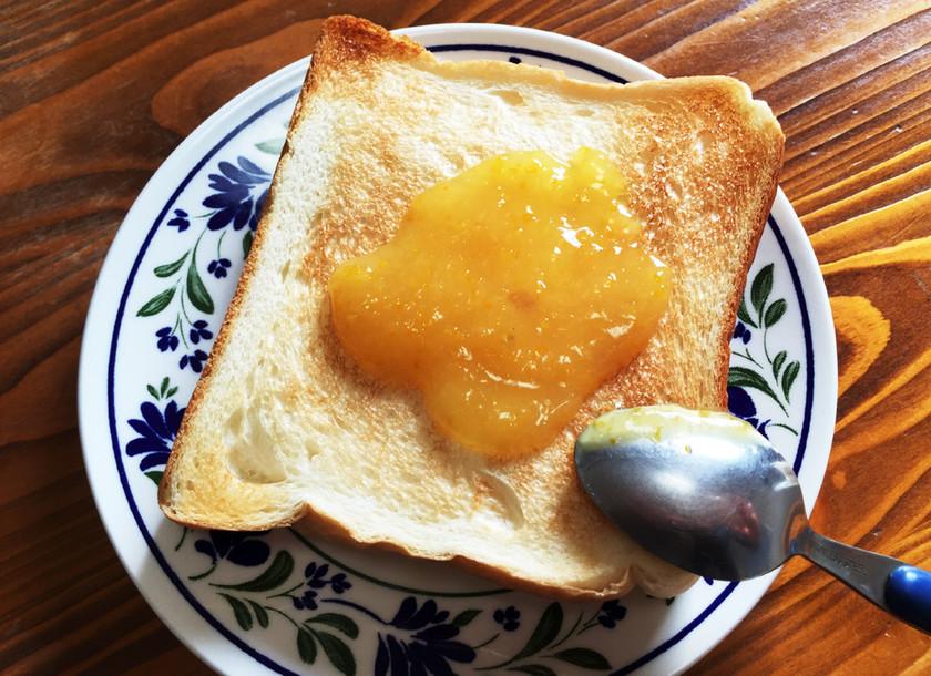 柚子の皮で簡単に!とろーり柚子ジャム