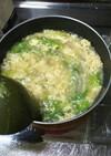 レタスと卵の中華風スープ