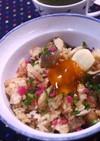 鶏のスタミナ炊き込みご飯♪