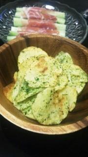 簡単ポテトチップス☆のり塩味の写真