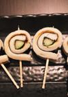 お弁当に、おつまみに♡くるくる竹輪