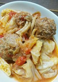 巻かないロールキャベツ~トマトソース煮~