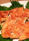 鶏肉のササミのチーズと大葉はさみ焼