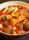 ピリ辛☆味噌トマト鍋