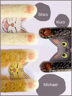 猫の手借りよう☆スティックおにぎり!