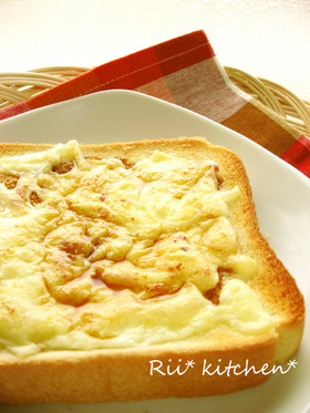 ガーリックしょうゆ♡チーズトースト♡