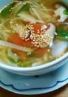 ダイエットに!切干大根とトマトでスープ♪