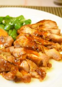 簡単絶品★チキンのマーマレードソース焼き