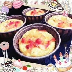 ★低糖質★大豆粉のりんごマフィン