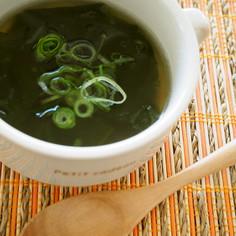 熱湯そそぐだけ♪本格わかめスープ
