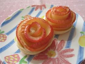 可愛い♪薔薇のアップルパイ