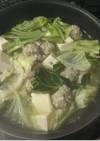 創味シャンタンで冬も温かしょうが鍋