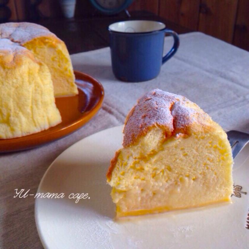 魔法のケーキ*勝手に3層*ふわふわとろり